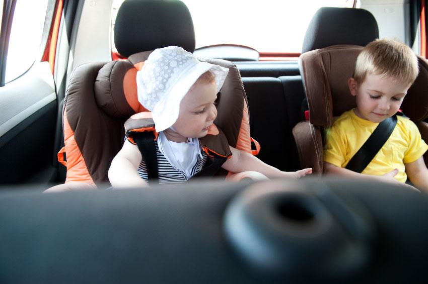 Mal de voiture enfants