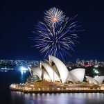 Nouvel An à Sydney Australie - Feux d'artifice