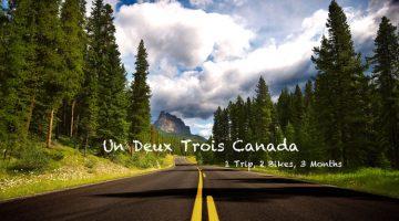 1 voyage, 2 vélos, 3 mois : 123 Canada !