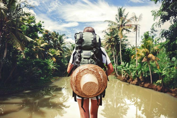 voyager dans un pays en développement