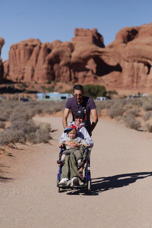 voyage et handicap Arches