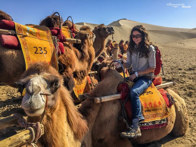 Rachel découverte monde route de la soie Chine