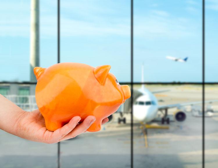 argent aéroport