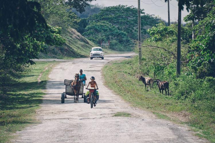 Cuba route secondaire