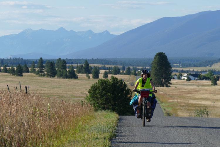 voyage à vélo campagne