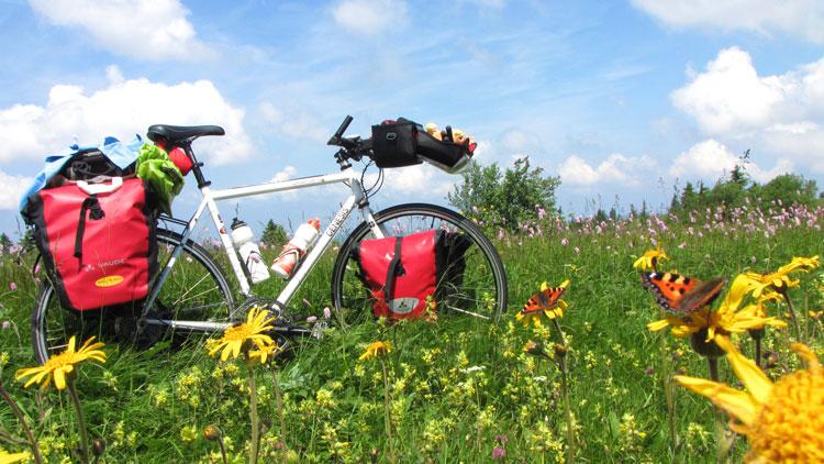 voyage à vélo monture