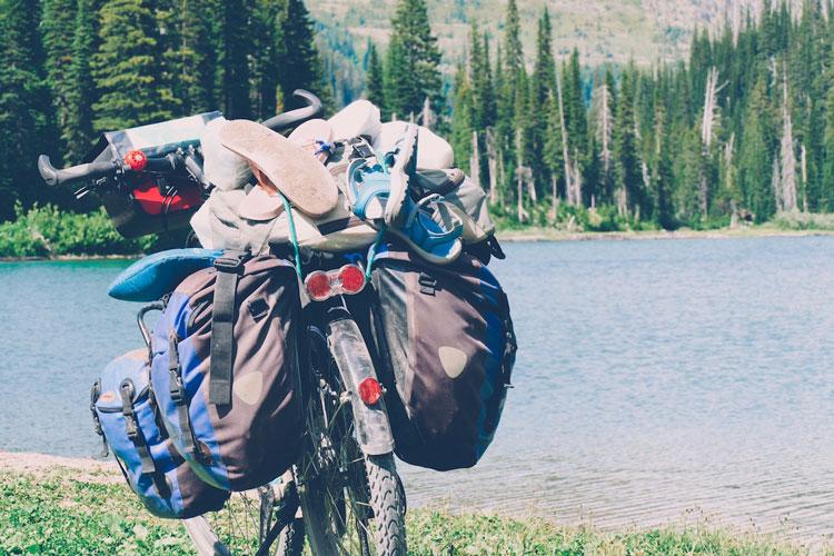 voyage à vélo portage