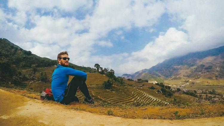 Traverser la frontière rizière