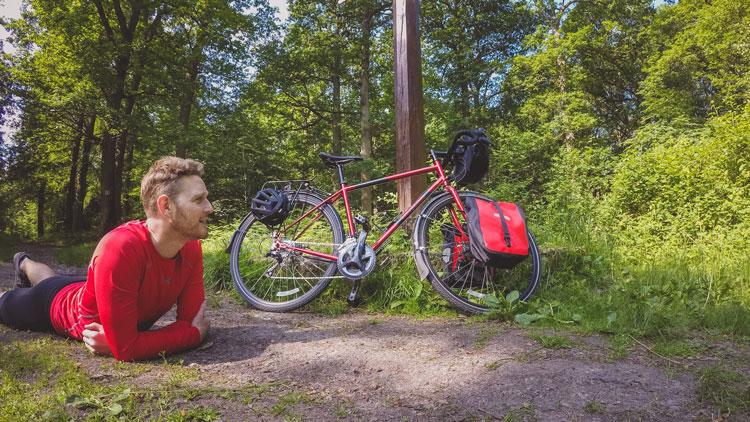 Traverser la frontière vélo