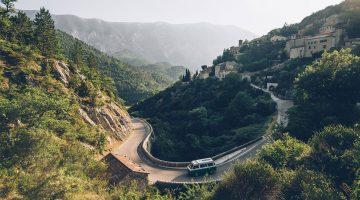 Road trip en van