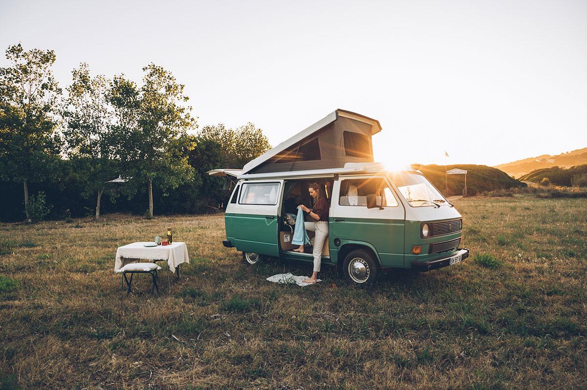 Van pour road trip