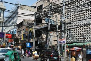Manila crowded street